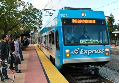 The VTA Is Hoping That Newly Launched Express Light Rail Service From The  Almaden Valley In South San Jose To The Cityu0027s Northern Area Will Build  Ridership ...